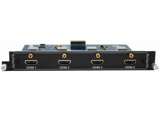 BRMX-4O-HD-混合插卡矩阵的输出卡