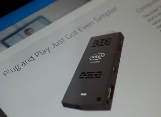 英特尔发布世界上最小Windows电脑Compute Stick