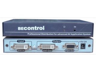 BEC-DV102A-DVI轉VGA+DVI轉換器 DVI轉化VGA