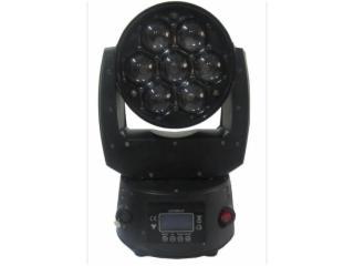 HL-LW0715-Z-新款7顆15W調焦LED搖頭燈