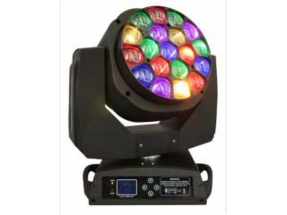 LW1915-Z-19颗调焦LED大蜂眼摇头灯