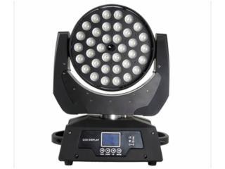 LW3610-Z-36颗10W调焦LED摇头染色灯