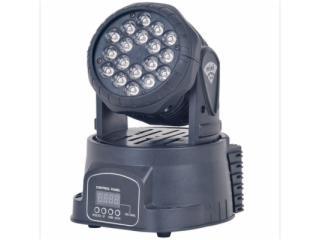 LW1803-酒吧KTV18颗3W迷你LED小摇头灯