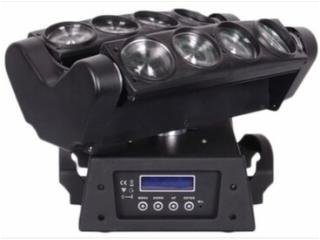 LM0810-LED雙排搖頭蜘蛛燈