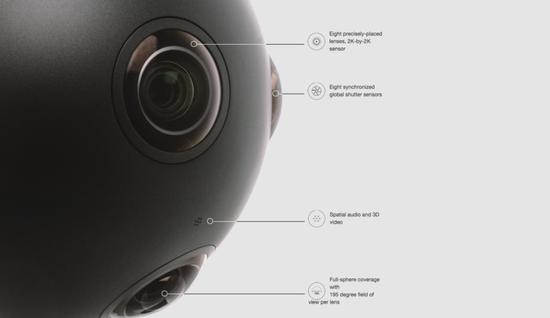 诺基亚8摄像头VR摄像机上市:售价30万