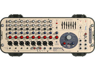 SOUNDCRAFT Gigrac 600-带功放、均衡器、效果器的便携式调音台