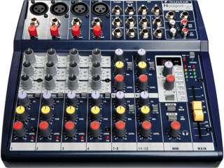 Soundcraft Notepad102-调音台