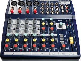 Soundcraft Notepad 124-调音台