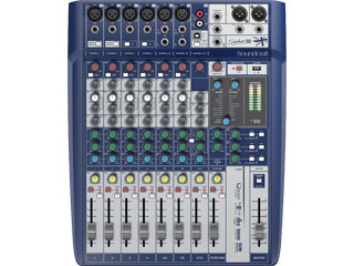 SoundcraftSignature 10-小型模擬調音臺