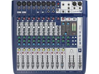 SoundcraftSignature 12-小型模擬調音臺