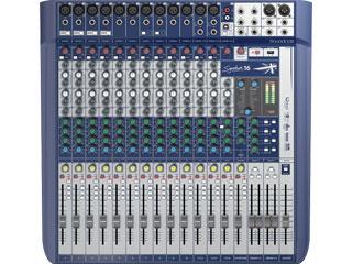 SoundcraftSignature 16-小型模擬調音臺