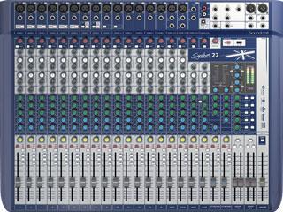 SoundcraftSignature 22-小型模擬調音臺