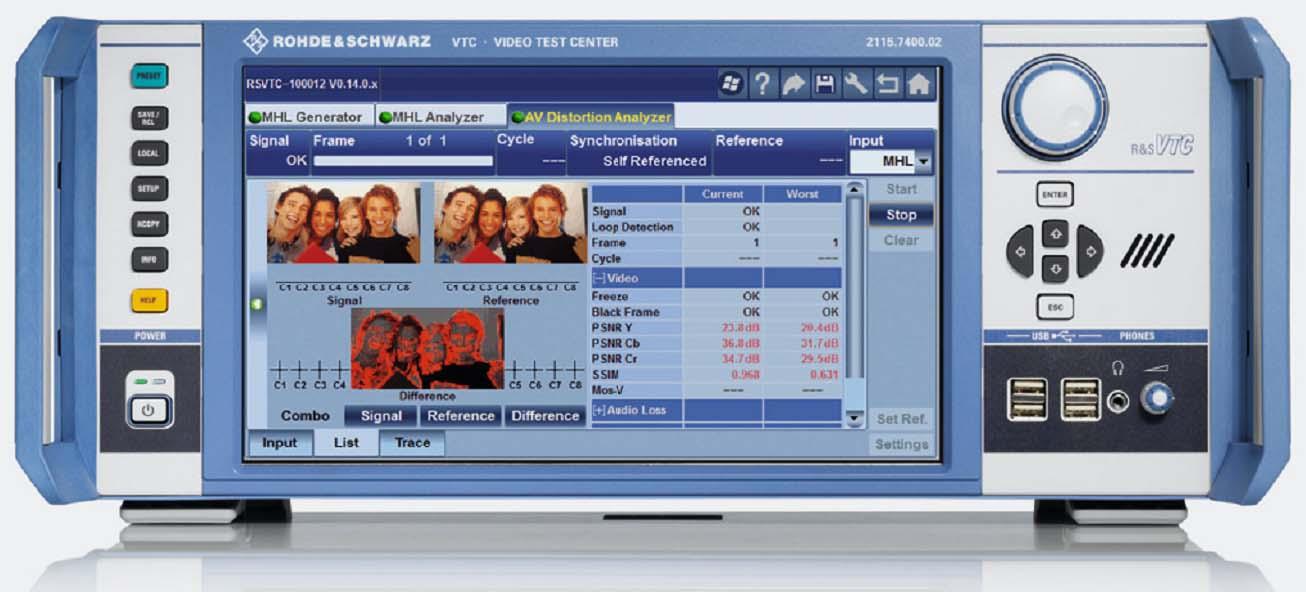 R&S VTC-视音频测试仪R&S VTC