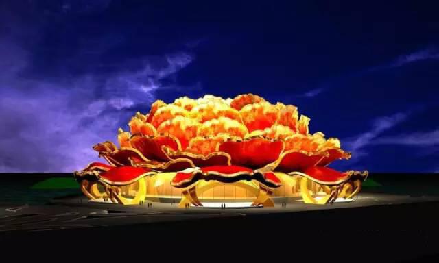牡丹剧院将建国内最大的可开合舞台