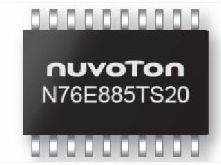 N76E885-電機控制專家 N76E88x 系列