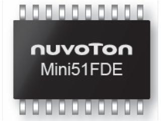 MINI51FDE-高性價比豐富外設 32位M0 微控制器