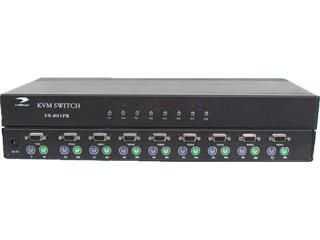 vn-801pk-VGA8口kvm切換器手動