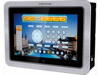 CR-LAN G7S-8英寸嵌墙有线画中画可编程触摸屏