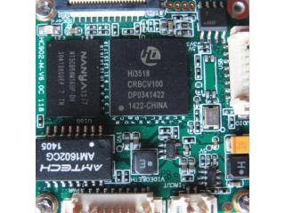 HI3518E-海思3518E高清網絡模塊MCCD低照度監控芯片模組
