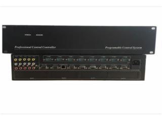 可编程会议中控,多媒体展厅中控,多媒体集中控制器,AV/VGA切换-TOP-6800W图片