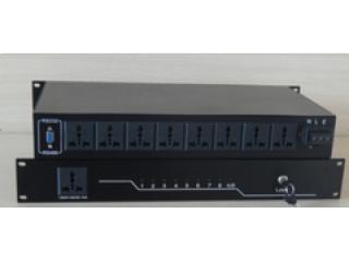 TOP-COM8W-8路会议电源时序器,延时电源控制器,可编程电源管理器,带串口控制