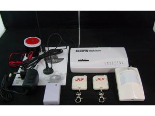 WG-G110-中山插手機卡的報警器,會打電話報警防盜器,手機控制的報警器