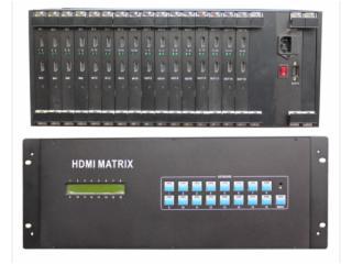 PG-HDMI1616-16进16出  HDMII矩阵