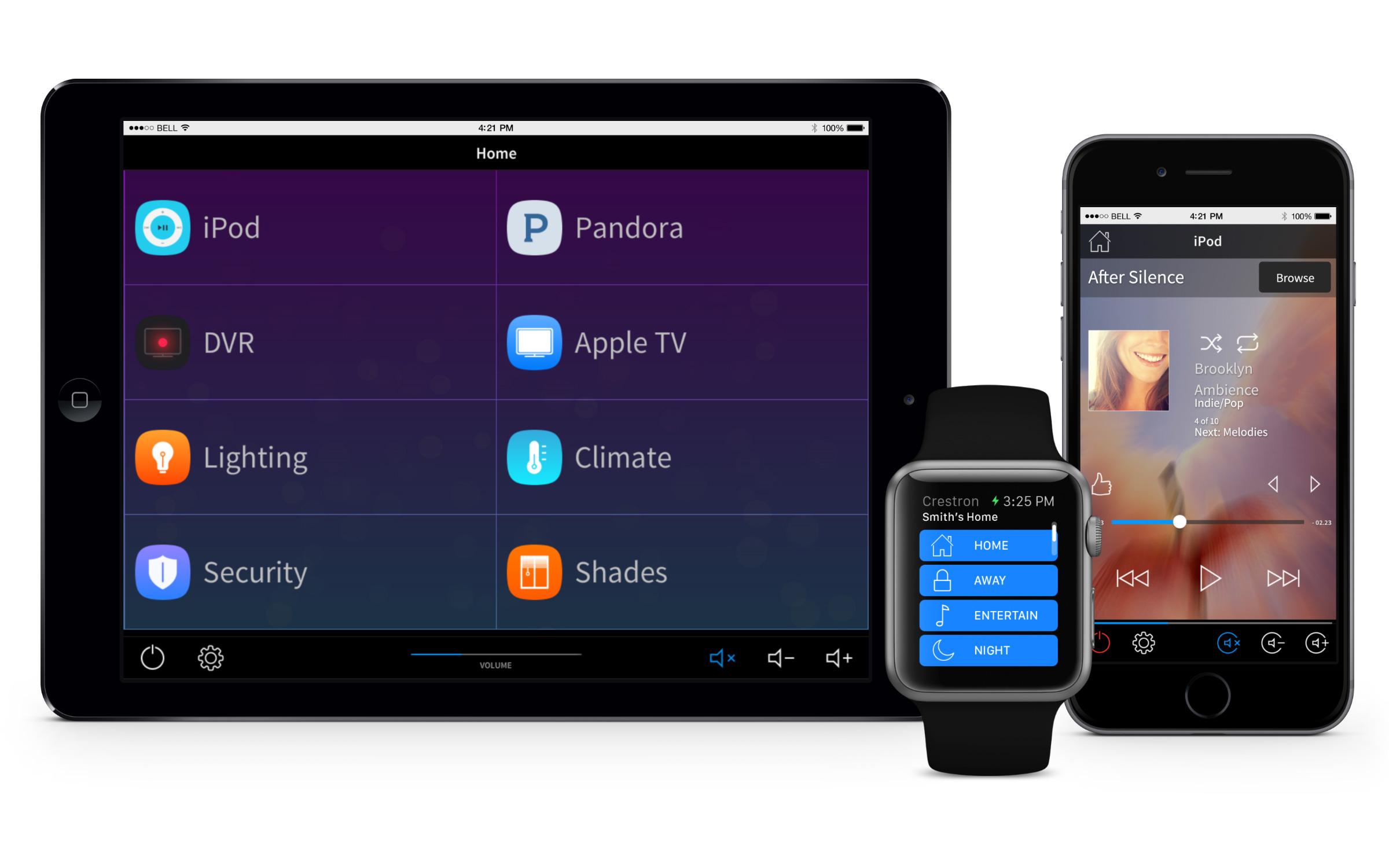 快思聪应用现已支持Apple Watch™