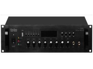 K-120MB-京邦帶MP3六分區合并式廣播功放K-120MB