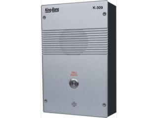 K-309-京邦壁挂式一键IP网络对讲终端K-309