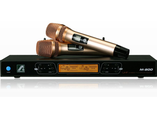 M-900-自动人手感应智能化无线麦克风
