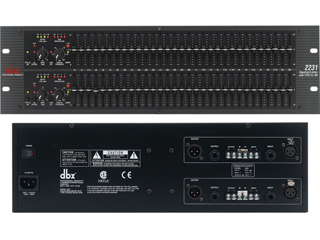 DBX 2231-雙31段帶III類型降噪均衡/限幅器