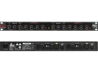 DBX 266XL-双通道压缩器|噪声门