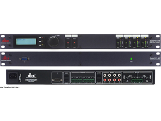 DBX  ZonePro 640/641-數字區域控制器