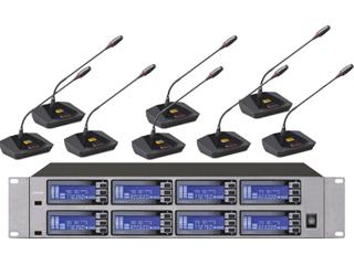 MU-2800-一拖八無線會議話筒
