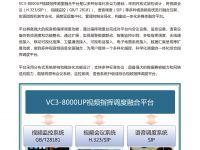 VC3-8000UP视频指挥调度融合平台