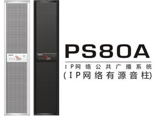 PS80A-IP有源音柱(80W)