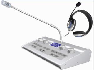 RX-E9008-全數字8通道同聲傳譯雙人翻譯臺