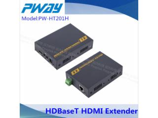 PW-HT201H-HDMI 4KX2K 網線延長器  HDMI轉網口 100米網線傳輸器