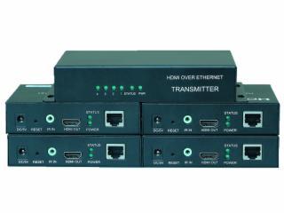 PW-DT1X4-HDMI 100米 1X4 1分4 1进4出 单网线延长器