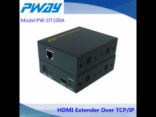 PW-DT100A-HDMI 150米單網線延長器 1080P 可過路由器與交換機傳輸