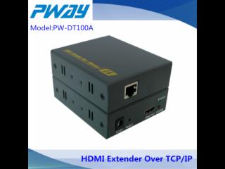 PW-DT100A-HDMI 150米双绞线传输器 TCP/IP协议 ,可一对多,多对一,多对多传输