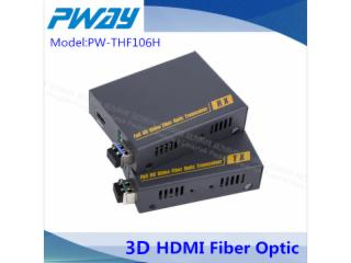 PW-HTF106H-HDMI 无压缩光纤延长器 2KM 1080P 3D EDID学习