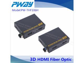 PW-THF106H-3D功能HDMI无损光端机 3D功能HDMI光纤延长器 1080P EDID学习