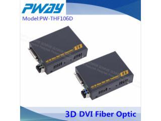 PW-THF106D-DVI-D无损光端机 单模单纤 2KM 1080 P 3D EDID学习