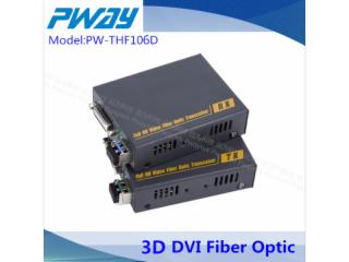PW-THF106D-DVI-D无压缩光纤延长器 单模单芯 2KM 1080P 3D EDID学习
