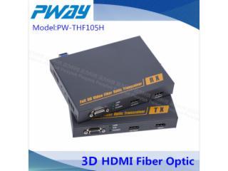 PW-THF105NH-HDMI无压缩光纤延长器 单模单纤 2公里 3D 本地输出(环出)输出端2路输出