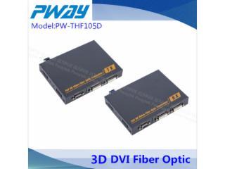 PW-THF105ND-DVI-D數字無損光端機 單模單纖 2公里(10公里可選)本地輸出  輸出2路