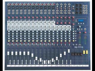 16路调音台XG-音频系统、16路调音台、多功能调音台