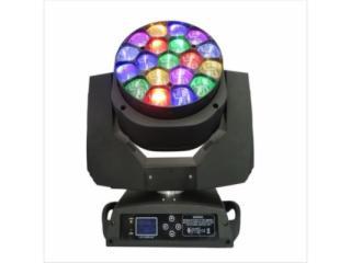 19顆LED蜜蜂眼調焦搖頭燈-19顆LED蜜蜂眼調焦搖頭燈